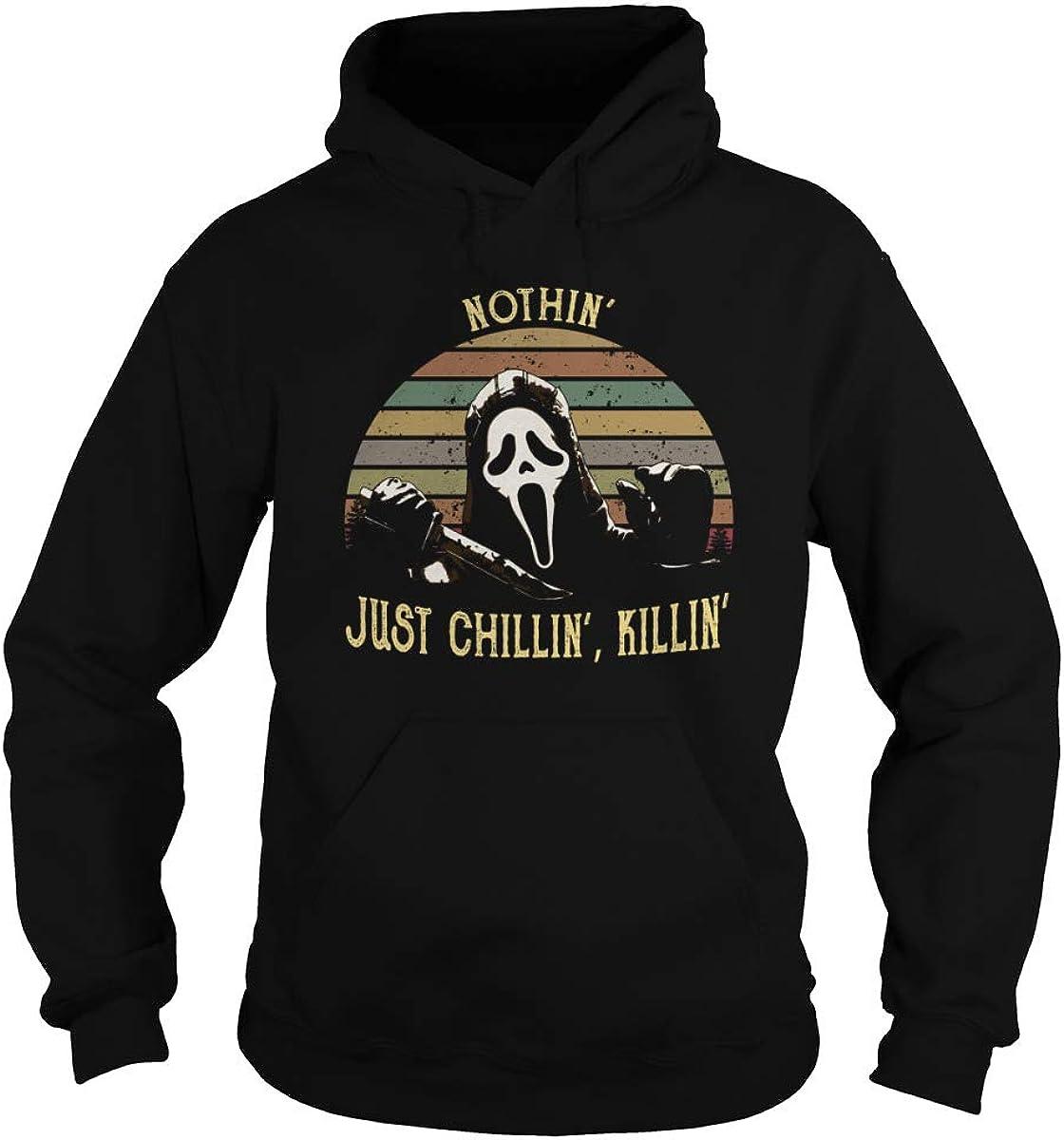 Marrola Nothing Just Chilling Killing Adult Hooded Sweatshirt