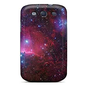 DateniasNecapeer Shockproof Scratcheproof Space Hard Cases Covers For Galaxy S3