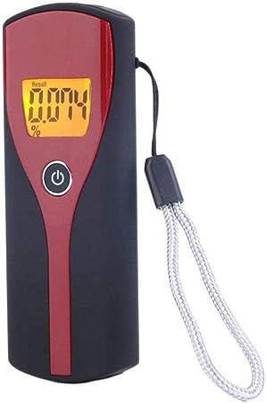 Ardentity Ethylotest Alcootest Electronique Alcotest Numerique homologu/é Haute Sensibilit/é avec 5 Embouchures Portable Num/érique Alerte Sonore avec Ecran LCD dAffichage