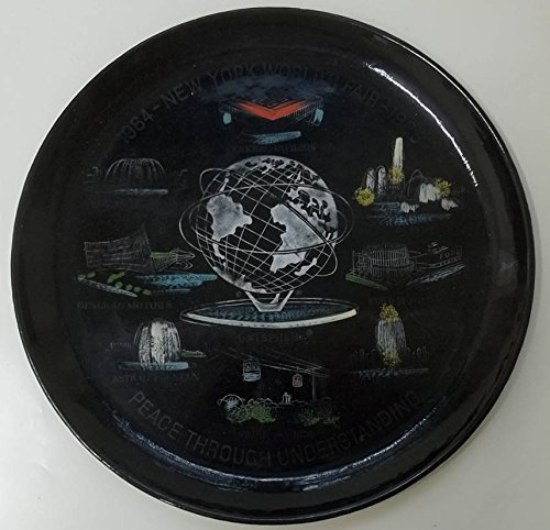 New York World's Fair plastic tray United States Steel 1964 - Tray Fair