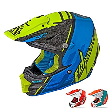 Fly Racing 73-40932X F2 Carbon Trey Canard Helmet