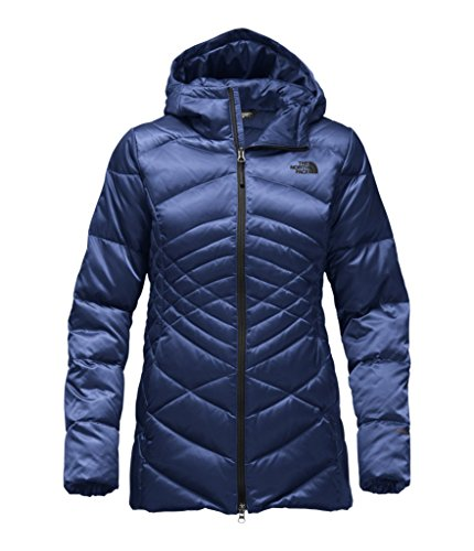The North Face Women's Aconcagua Parka - Brit Blue - L (Past (North Face Womens Parka)