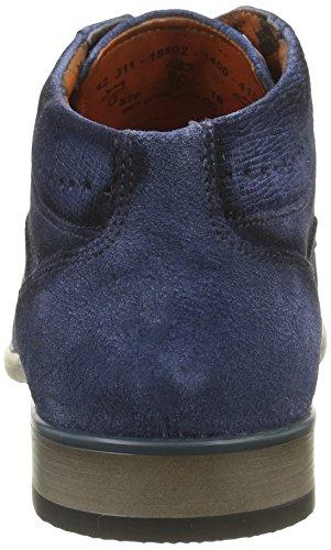 Bugatti 311186021400, Botines para Hombre Azul (d.blau 4100d.Blau 4100)