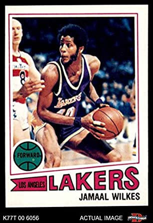 e4471107982 1977 Topps   33 Jamaal Wilkes Los Angeles Lakers (Basketball Card) Dean s  Cards 6