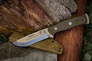 Tops B.O.B. Brothers of Bushcraft Survival Knife - BROS-TAN (Coyote Tan)
