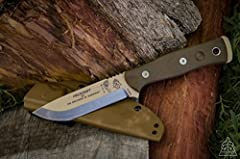 The Fieldcraft Knife was designed by The Brothers of Bushcraft, a coalition of men across North America focusing on sharing wilderness living skills of all categories. From tracking, to building shelters, the Brothers of Bushcraft make it a p...