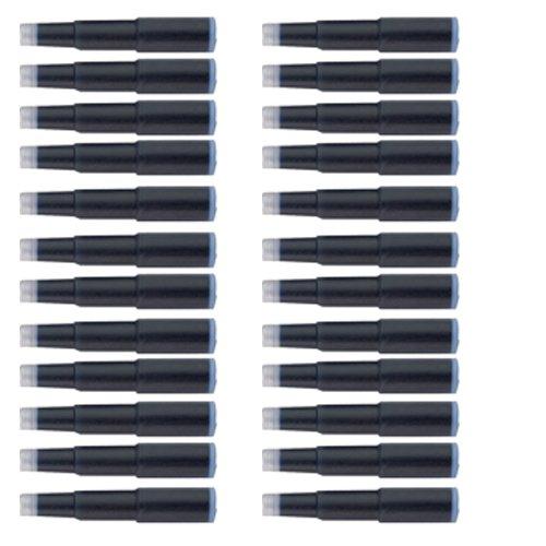 Cross Fountain Pen Cartridge Ink Refills,Blue/Black, 6 per card, 24 Pack (8924) (Black Cross Ink Cartridges)