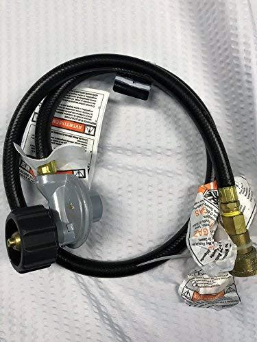 TEC Infrared Gas Grill Factory Replacement QD Hose & LP Propane Regualtor for FR & G Series REG102QDFR