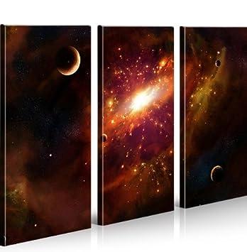 Bild auf Leinwand Universum MF XXL Poster Leinwandbild Wandbild