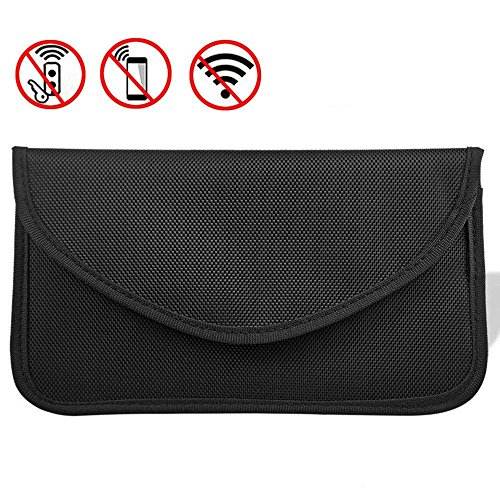 MONOJOY Faraday Bag Key Fob Signal Blocking Pouch for Car Keys Phones, Keyless Entry Signal Blocker, RFID Cell Phone and Key Pouch