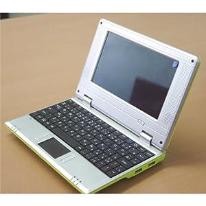 A5サイズの 7インチ ノートパソコン miniパソ Office搭載 Excel Word