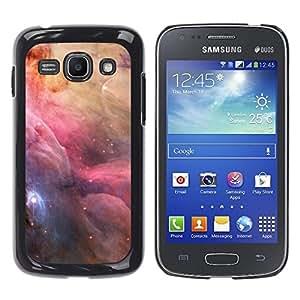 TopCaseStore / la caja del caucho duro de la cubierta de protección de la piel - Space Nebulae Sky Majestic Universe Stars - Samsung Galaxy Ace 3 GT-S7270 GT-S7275 GT-S7272