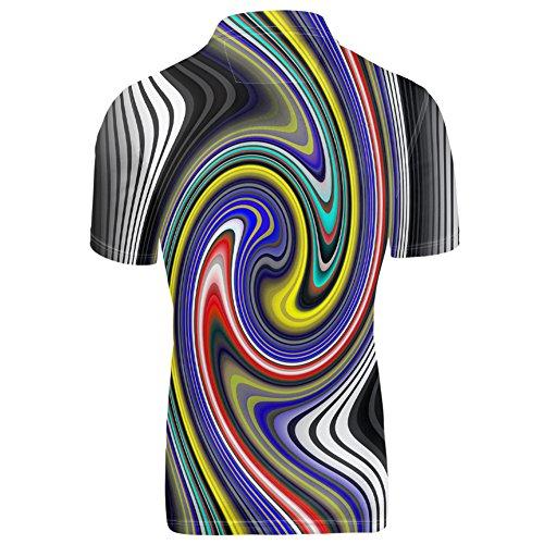 HUGS IDEA Mens Polos Shirt Summer Short Sleevee T-Shirts