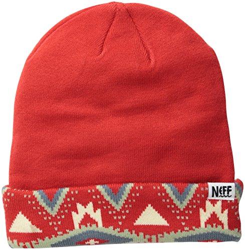 Única Neff rojo Beanies Unisex Tribal Negro Shores Gorros adulto F140Fr8