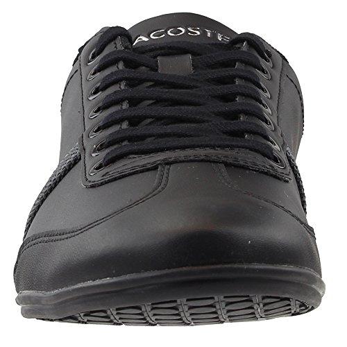 Lacoste Heren Misano Sport 118 1 U Sneaker Zwart / Donkergrijs