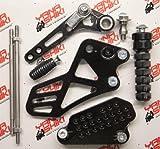 Yana Shiki RS4058B Performance Series Black Finish Rear Set for Suzuki GSX 1300R Hayabusa