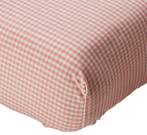 Glenna Jean Isabella Fitted Sheet, Pink/Cream