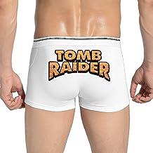 Men Tomb Raider Logo Lara Croft Toby Gard Trunks