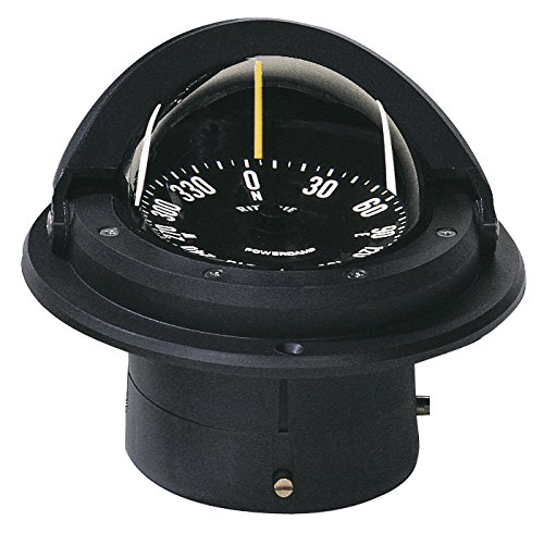 1 - Ritchie F-82 Voyager Compass - Flush Mount - Black
