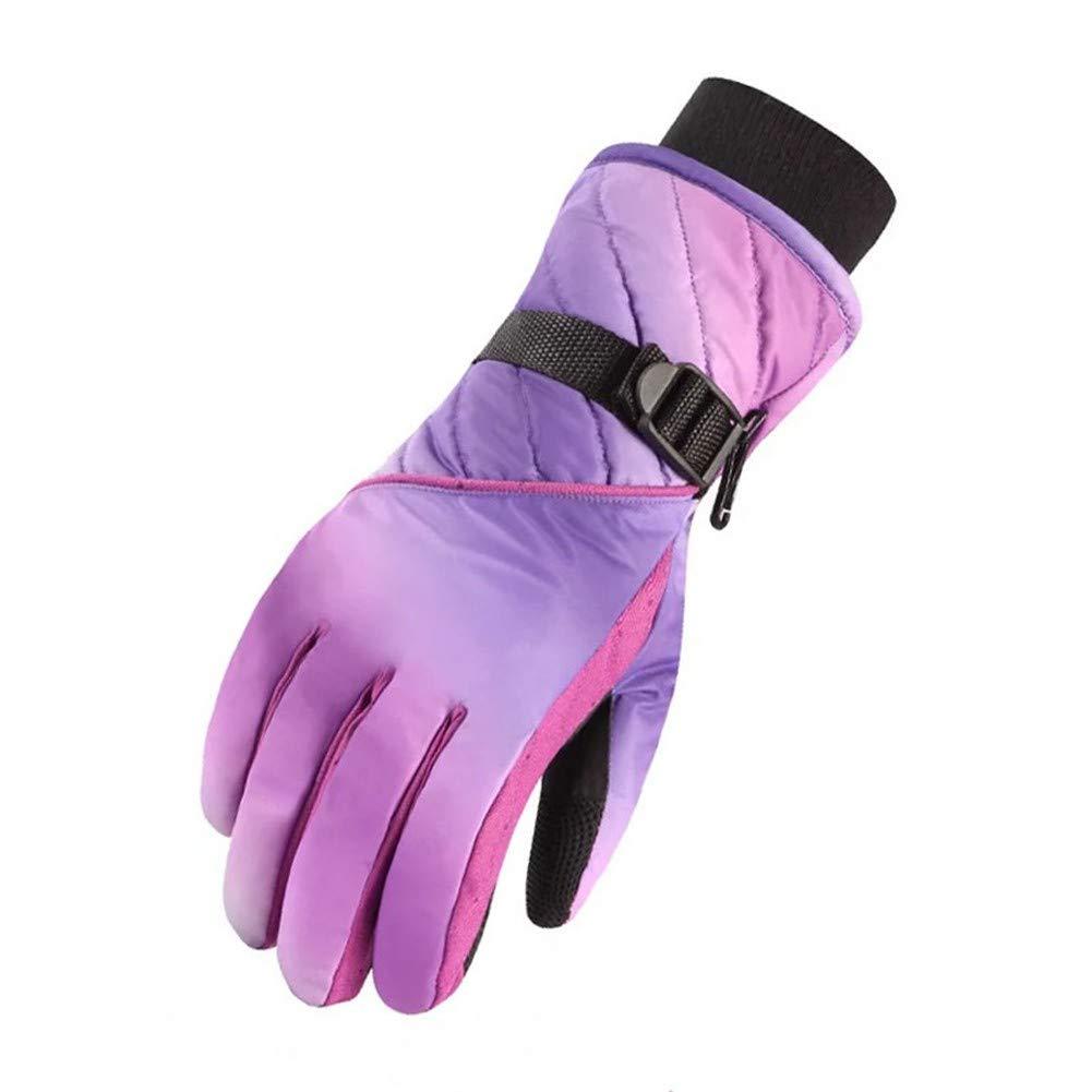 Handschuhe - Outdoor Handschuhe Winter Ski Männer und Frauen Warm und Winddicht Wasserdicht Dicker Baumwolle Winter Motorradfahren Touchscreen Fahren Rutschfeste Handschuhe UV
