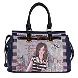 Nicole Lee Special Print Edition Duffle Bag, Dolly, One Size For Sale