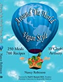 Around the World Vegan Style, Nancy Robinson, 1434373045