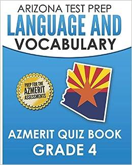 Amazon com: ARIZONA TEST PREP Language & Vocabulary AzMERIT