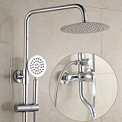 SADASD Moderno Baño Ducha Grifo Conmutador de Cobre Aleación Oculta Calentador de Agua Eléctrico Conjunto Grifo
