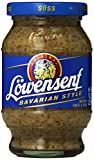 Lowensenf Mustard Jar, Bavarian Sweet, 10.20 Ounce