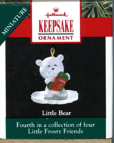 Hallmark Keepsake Ornament - Little Bear - 1990 Miniature XPR9723