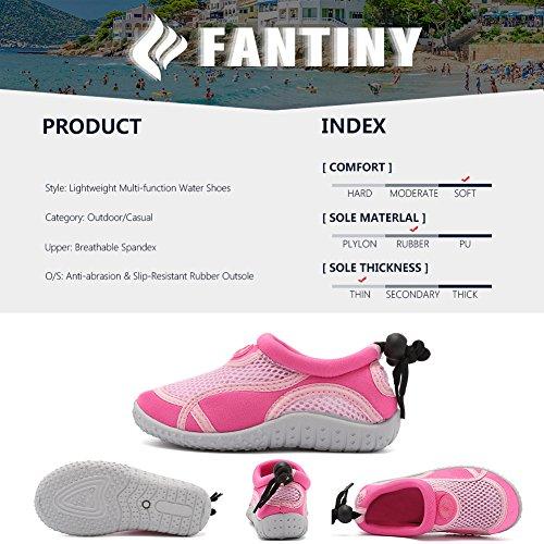 CIOR Pool Sports Shoes Quick Beach Swim Water Aqua Athletic 01pink Drying Toddlers Socks rz0Rqrx