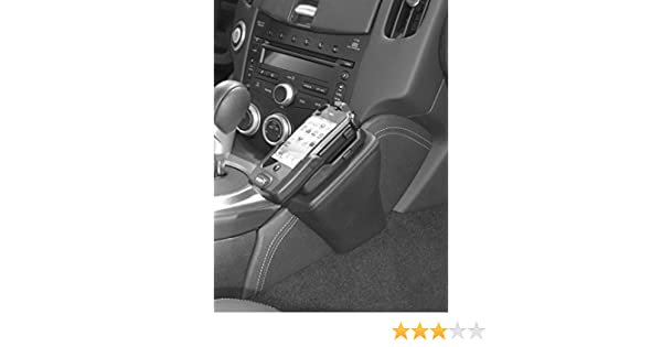 Kuda 081865 Leather Mount Black Compatible with Nissan SENTRA Since 2007