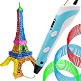 3D Printing Pen, Doodler Drawing DIY with LCD Display 3 Free PLA Filament Refills Set for Adults and Kids (Upgraded Version)