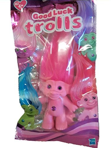 Good Luck Trolls 2015 Pink with Pink Hair