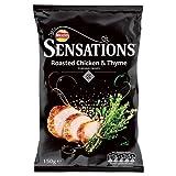 roasted chicken crisps - Crisps Sensations Roasted Chicken & Thyme 6X150G