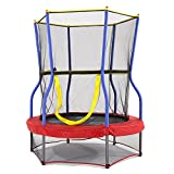 Skywalker SBT48 Trampolines 48 In. Round Zoo Adventure Bouncer with Enclosure