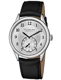 Stuhrling Prestige Men's 171B3.33152 Swiss Made Adamant Automatic Date Silvertone Watch