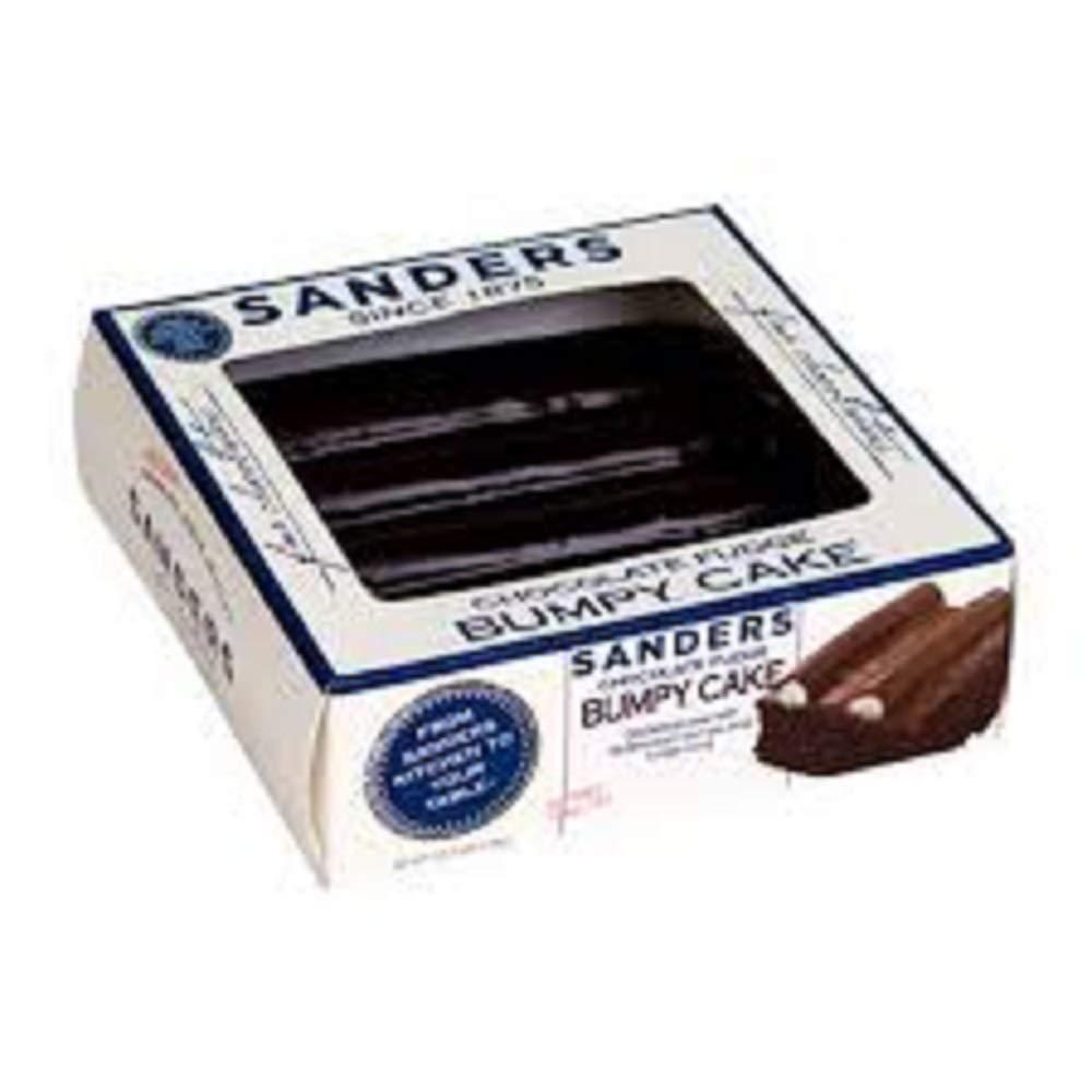 Sanders Chocolate Fudge Bumpy Cake,, 1.25 Lb (pack Of 6)