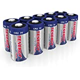 TenergyCR2 3V Lithium Battery Non-RechargeablePTC Protected High PerformanceCR2 Batteriesfor Flashlight, Digital Cameras, Toys, Alarm Systems (Not For Arlo Camera) 10PCS