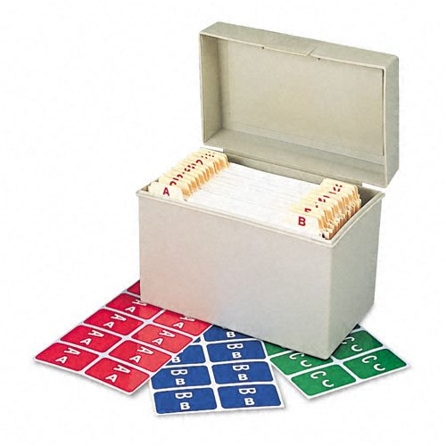 Smead : Alpha-Z Color-Coded Second Letter Labels Starter Set, A-Z , 2200/Box -:- Sold as 2 Packs of - 22 - / - Total of 44 Each