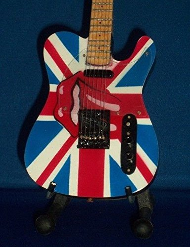 Mini Guitar ROLLING STONES JAGGER RICHARDS Display Gift