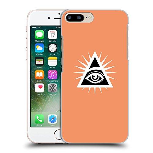 GoGoMobile Coque de Protection TPU Silicone Case pour // Q09120607 Œil Providence 22 Mandarine // Apple iPhone 7 PLUS