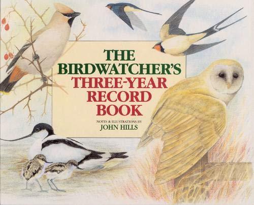 Read Online Birdwatcher's 3-Year Record Bk PDF