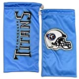 NFL Tennessee Titans Microfiber Glasses Bag