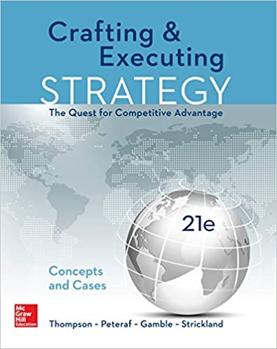 Crafting And Executing Strategy 19th Edition Ebook