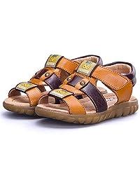 BININBOX Summer Breathable Sandals Girl Boys Toddler Kid Shoe Athletic Velcro