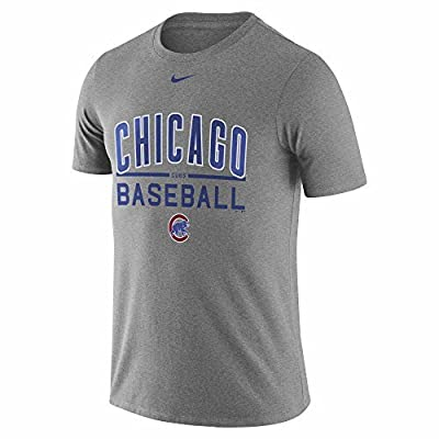 Chicago Cubs Nike Away Practice T-Shirt (Small)