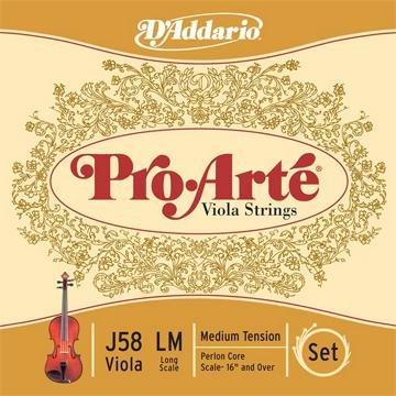 Pro Arte Perlon Core Viola Strings (16'' Size Violas)