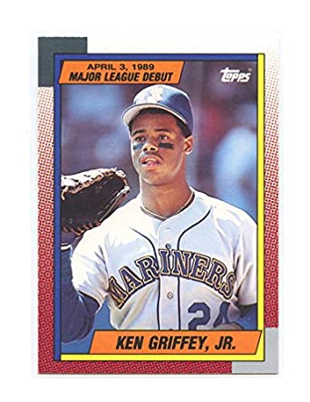 1990 Topps 4389 Major League Debut 46 Ken Griffey Jr 2nd