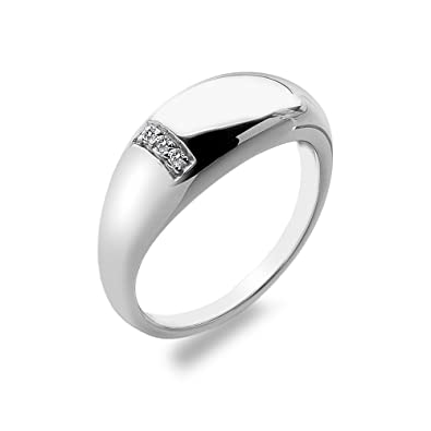 Hot Diamonds Women's 925 Sterling Silver Diamond Belle Ring XiYY0SGDi